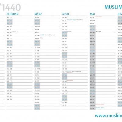 jahreskalender_muslim-planner-2019