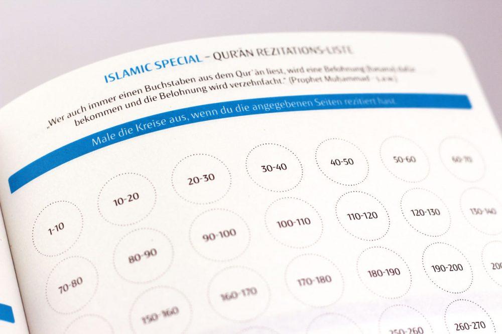 Muslim Planner - Koranrezitationsplan
