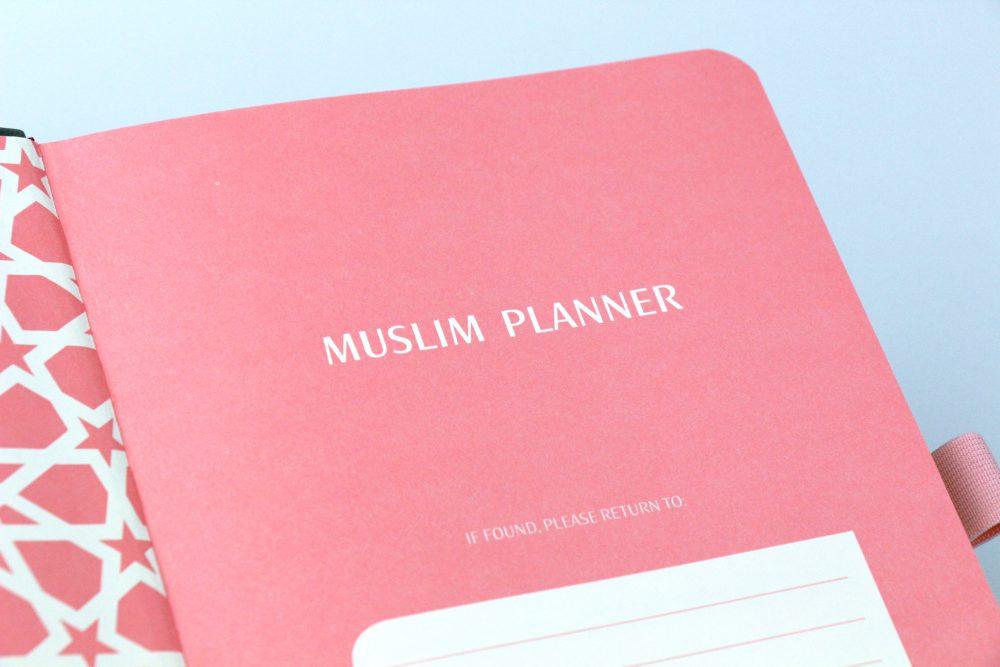 Muslim Planner - grau/rosé