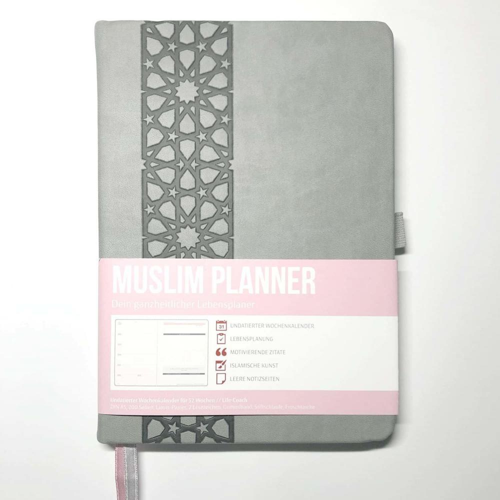 Muslim Planner. - grau/rosé