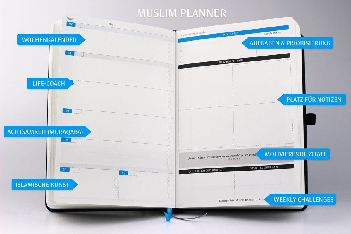 Muslim Planner Interior