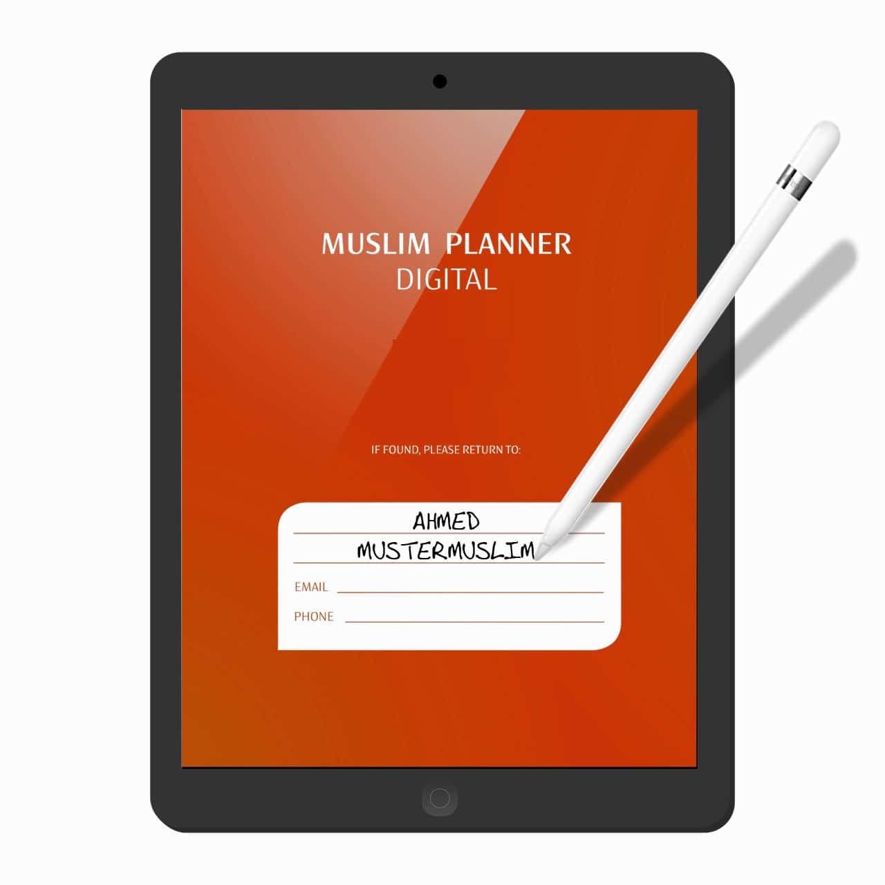 Muslim Planner | digital undatiert