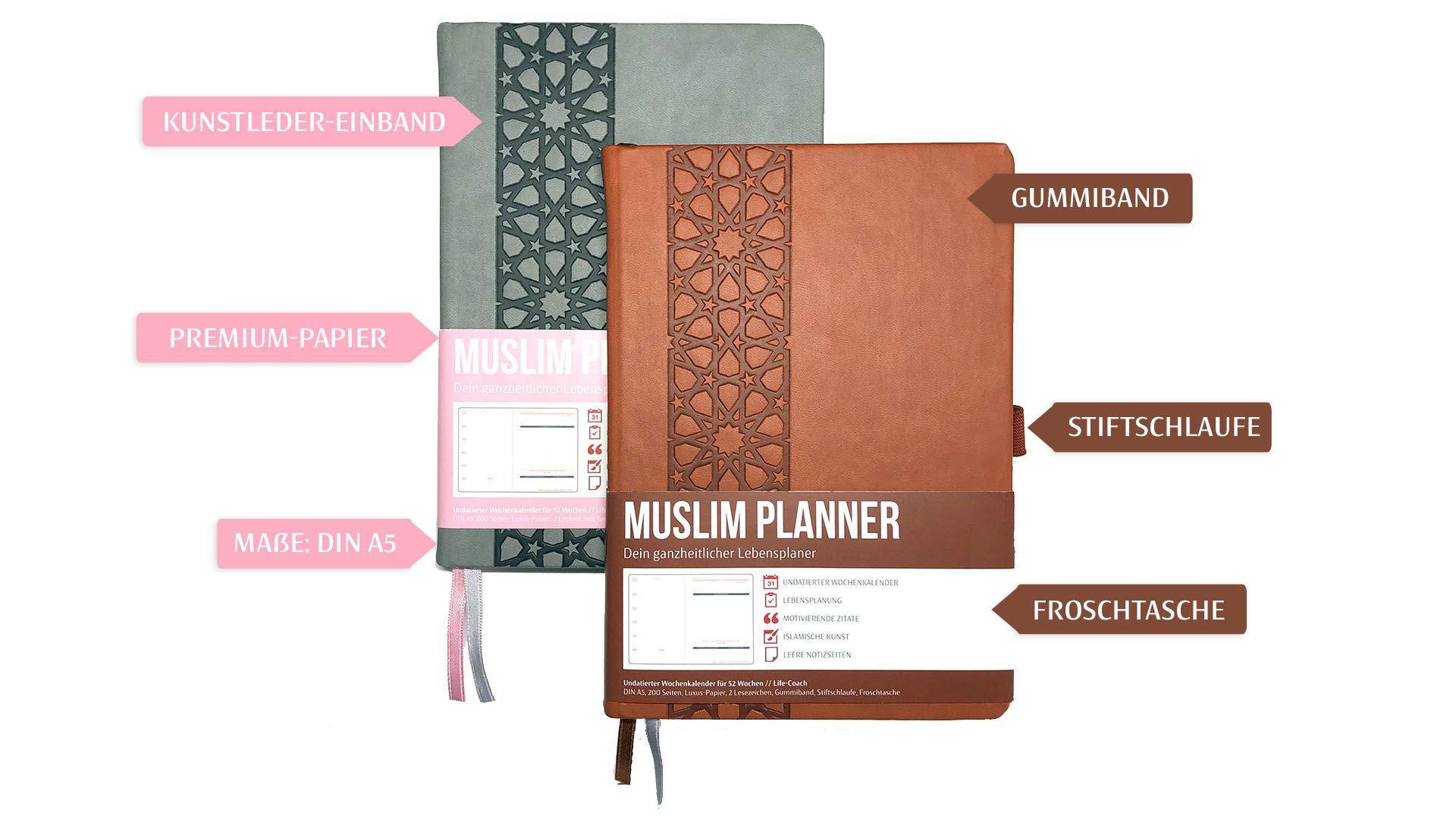 Muslim Planner - Materialien